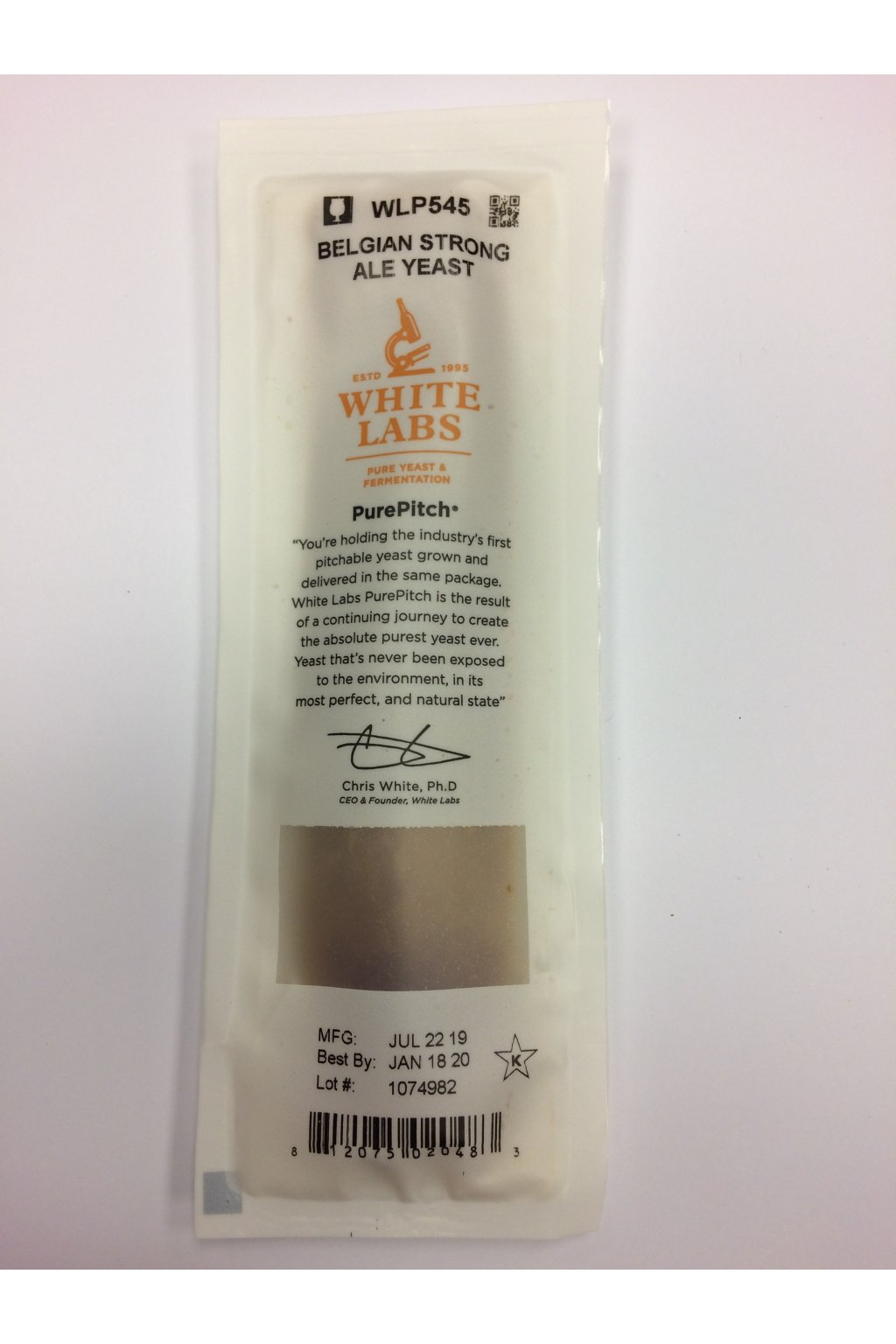 WLP545 Belgian Strong Ale Yeast