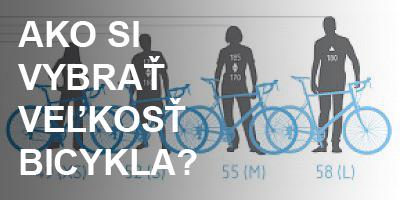 Ako si vybrať veľkosť bicykla?