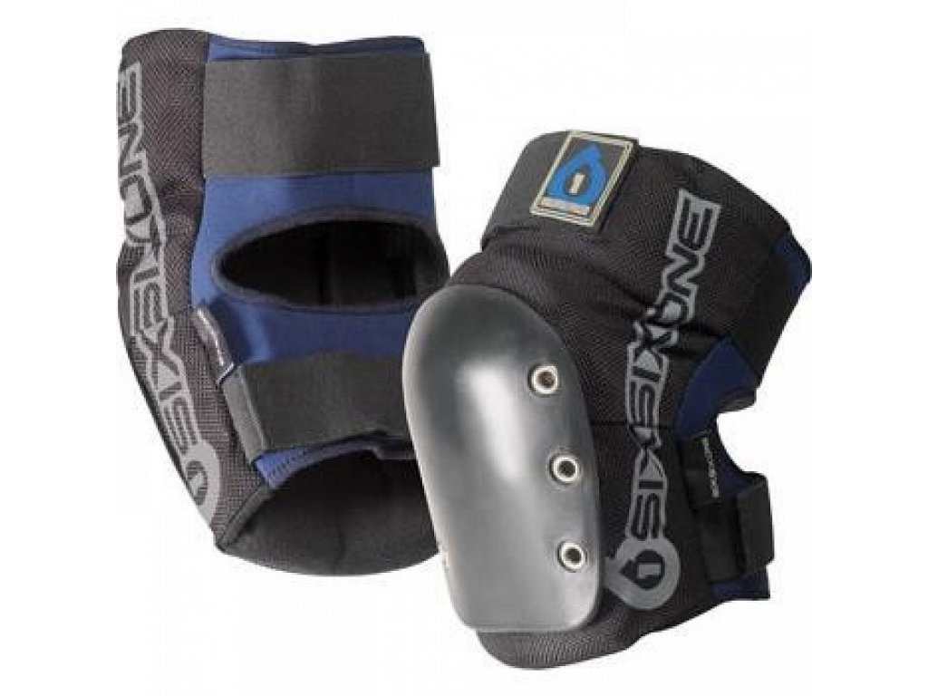 SixSixOne DJ KNEE GUARDS Black n Blue