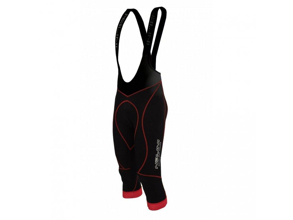 Nalini FS BIB Knickers 3/4 Black n Red