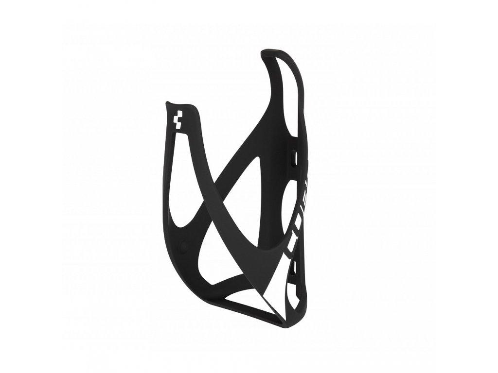 Cube BOTTLE CAGE HPP Mat  Black n White