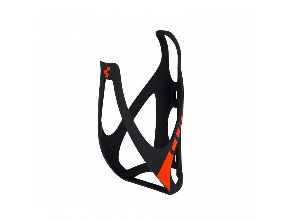 Cube BOTTLE CAGE HPP Mat  Black n Red
