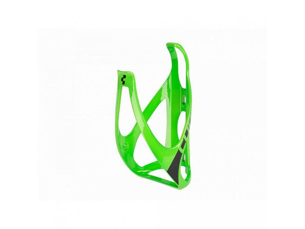 Cube BOTTLE CAGE HPP Green n Black