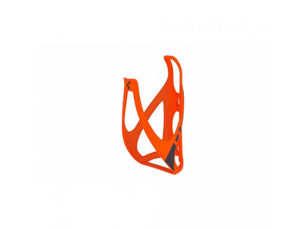 Cube BOTTLE CAGE HPP Mat Orange n  Black