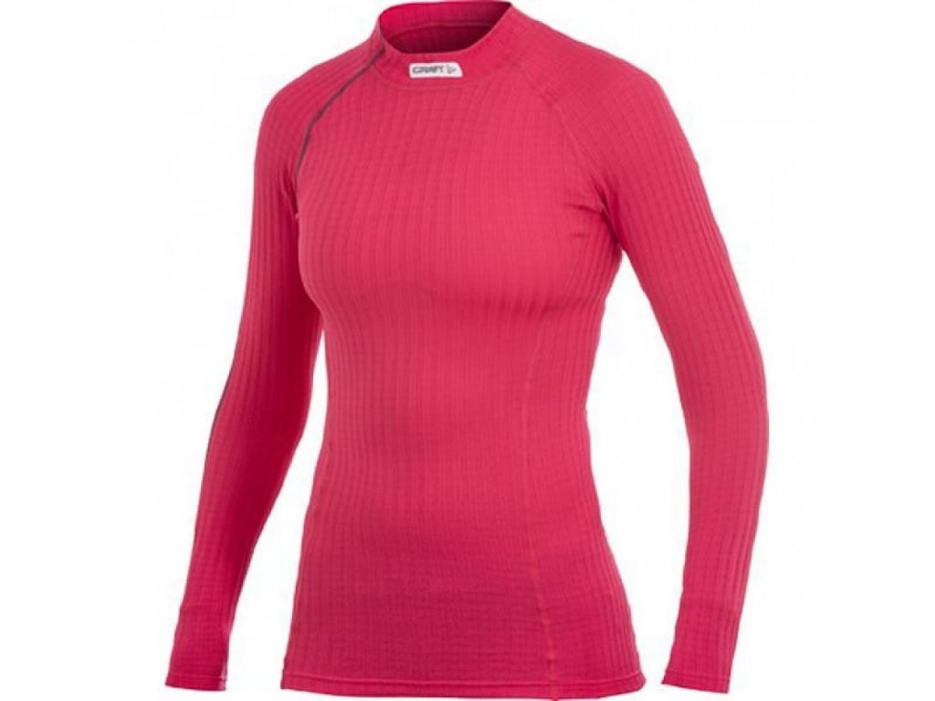 Craft Be Active Extreme Crewneck w Red