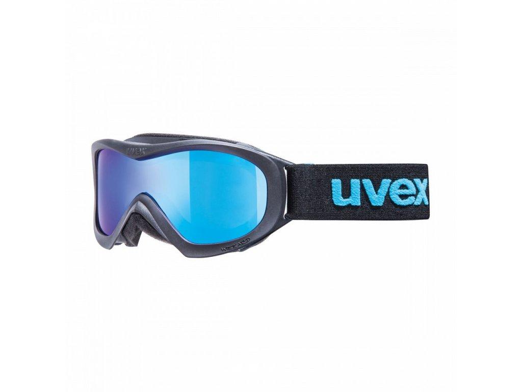 Uvex wizzard dl mirror čierne / modré 2015/16