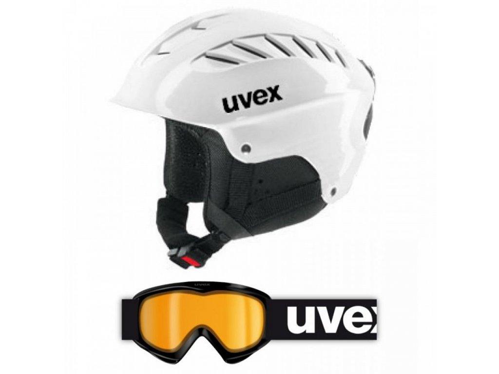 Uvex junior set  White