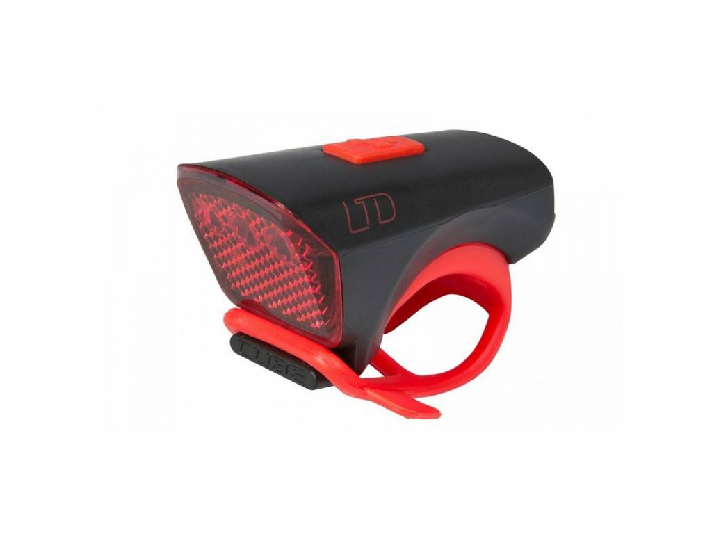 "Cube LIGHT LTD ""Red LED""  Black  n Red"