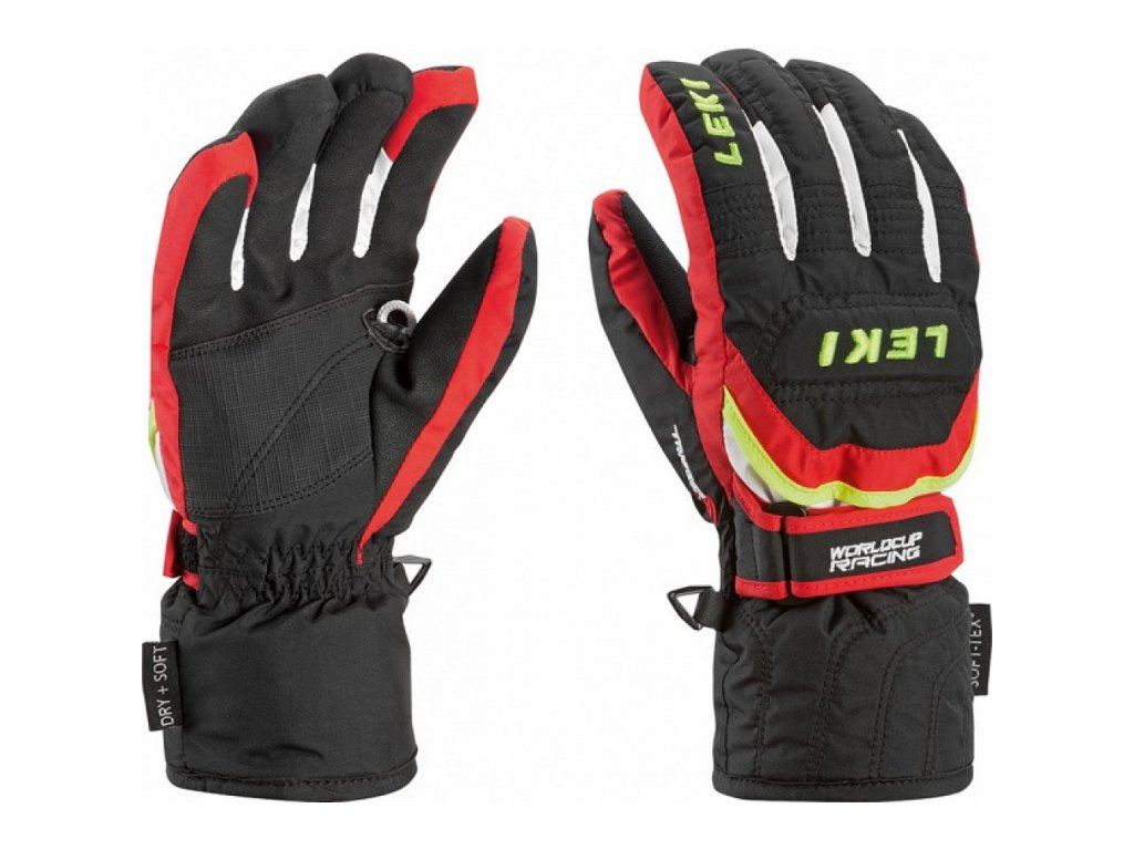 Leki Leki Glove Worldcup S junior black