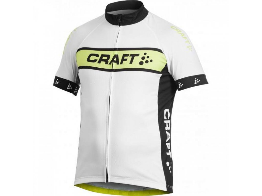 Craft AB Logo White n Yellow