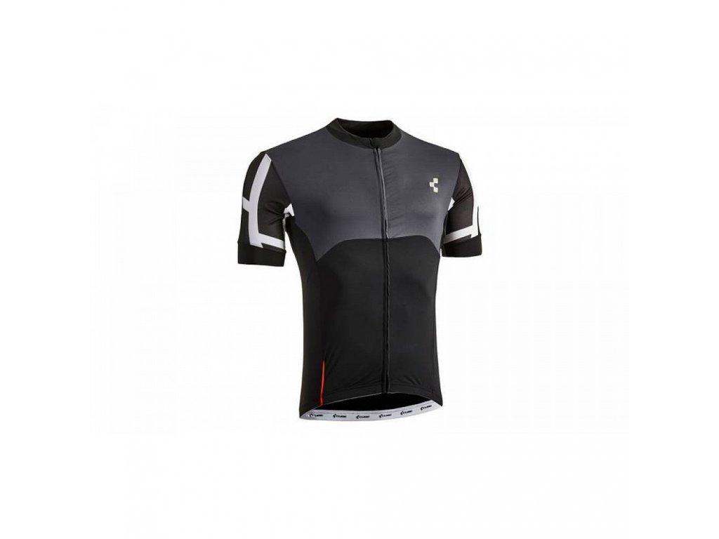 Cube Blackline Jersey S/S Black n Grey