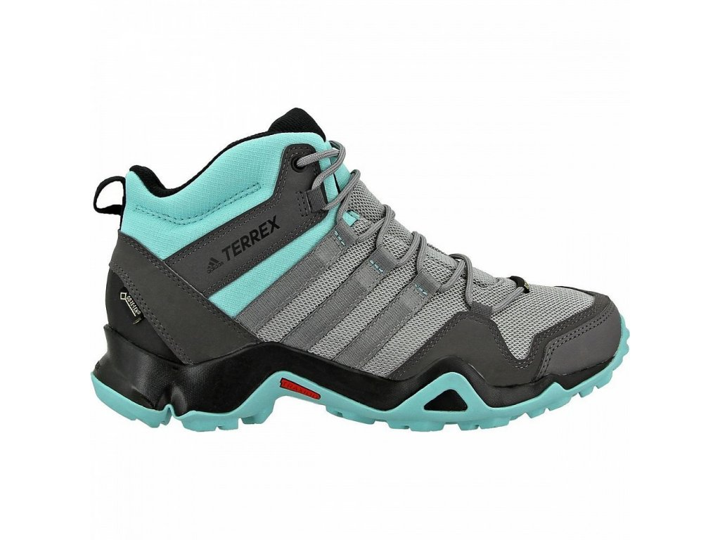 on sale new images of best loved Adidas TERREX AX2R MID GTX W Grey n ASH Green