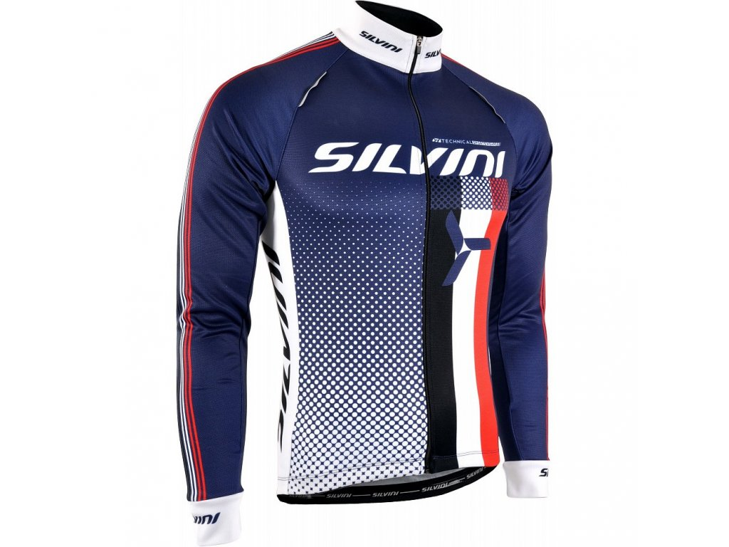 Silvini Team Navy Dark Blue n White
