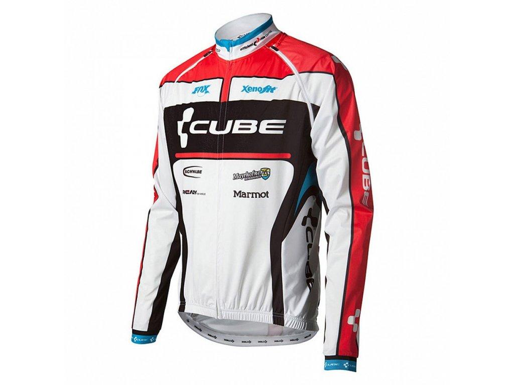 Cube Teamline Multi Jacket White n Red
