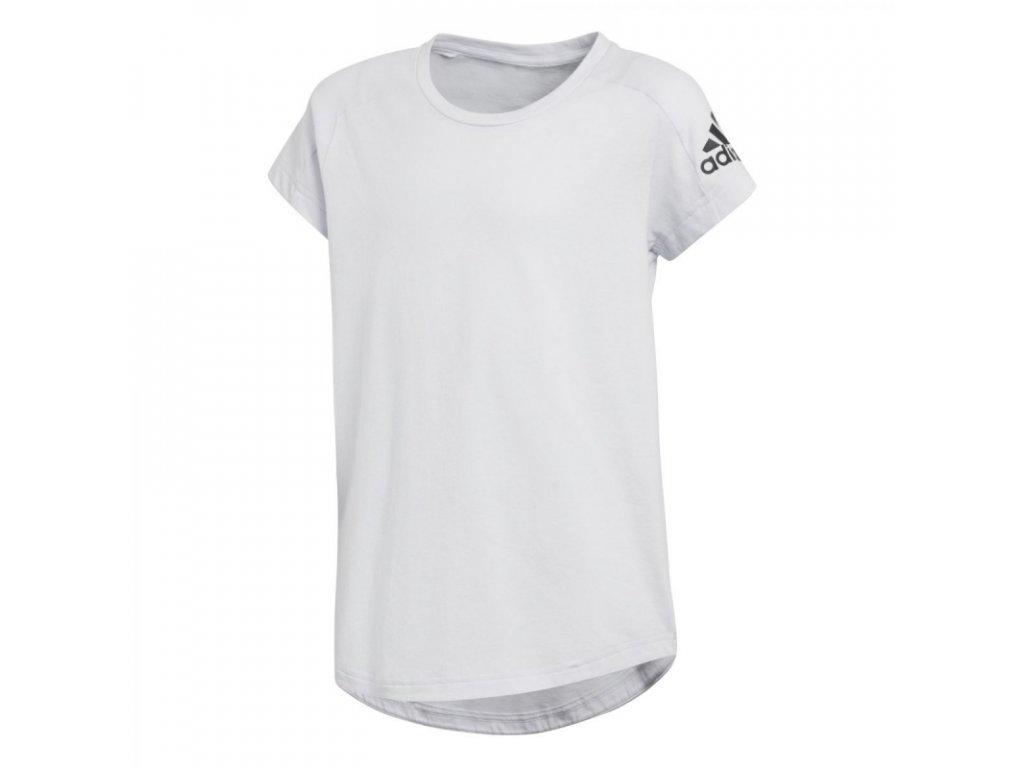 f61365cf4a01 Detské tričko ADIDAS Z.N.E. TEE biela - JM SPORT