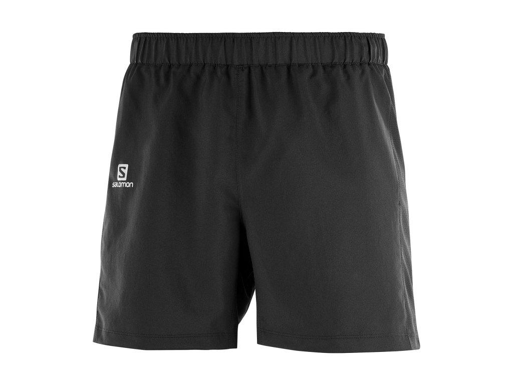 salomon agile 5in pantaloncini running uomo black l40120100 A
