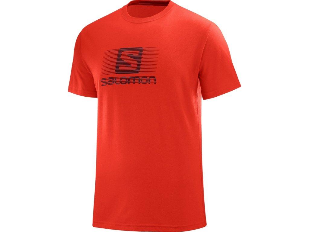 salomon blend logo ss tee l40062400