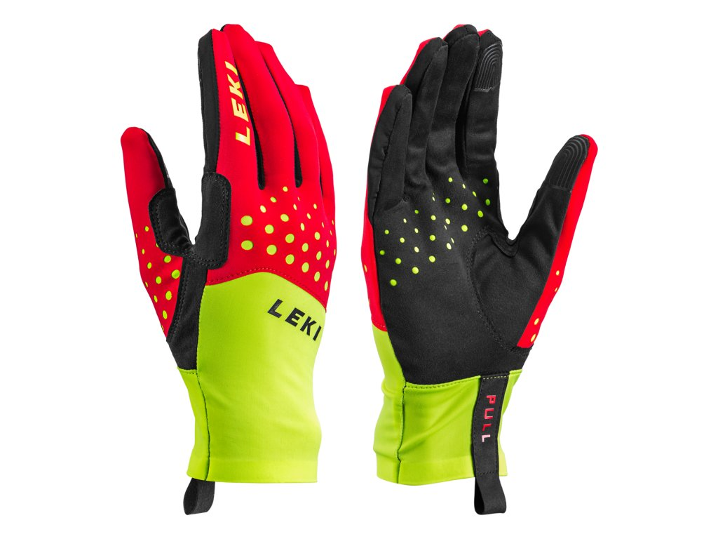 Leki Nordic Race Red n Yellow