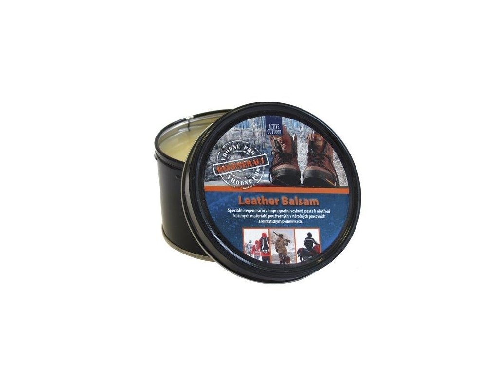 active outdoor leather balsam 250g bezfarebny 049297 or