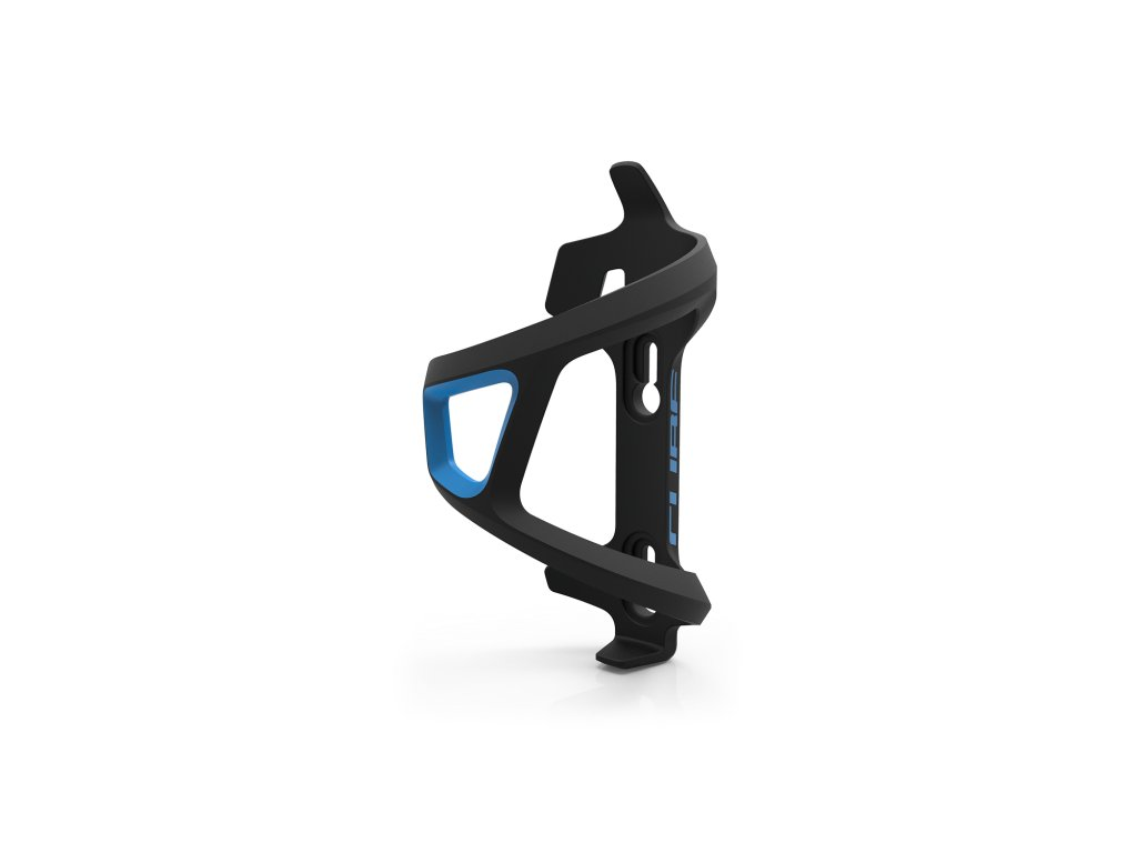 Cube HPP LEFT-HAND SIDECAGE Black n Blue