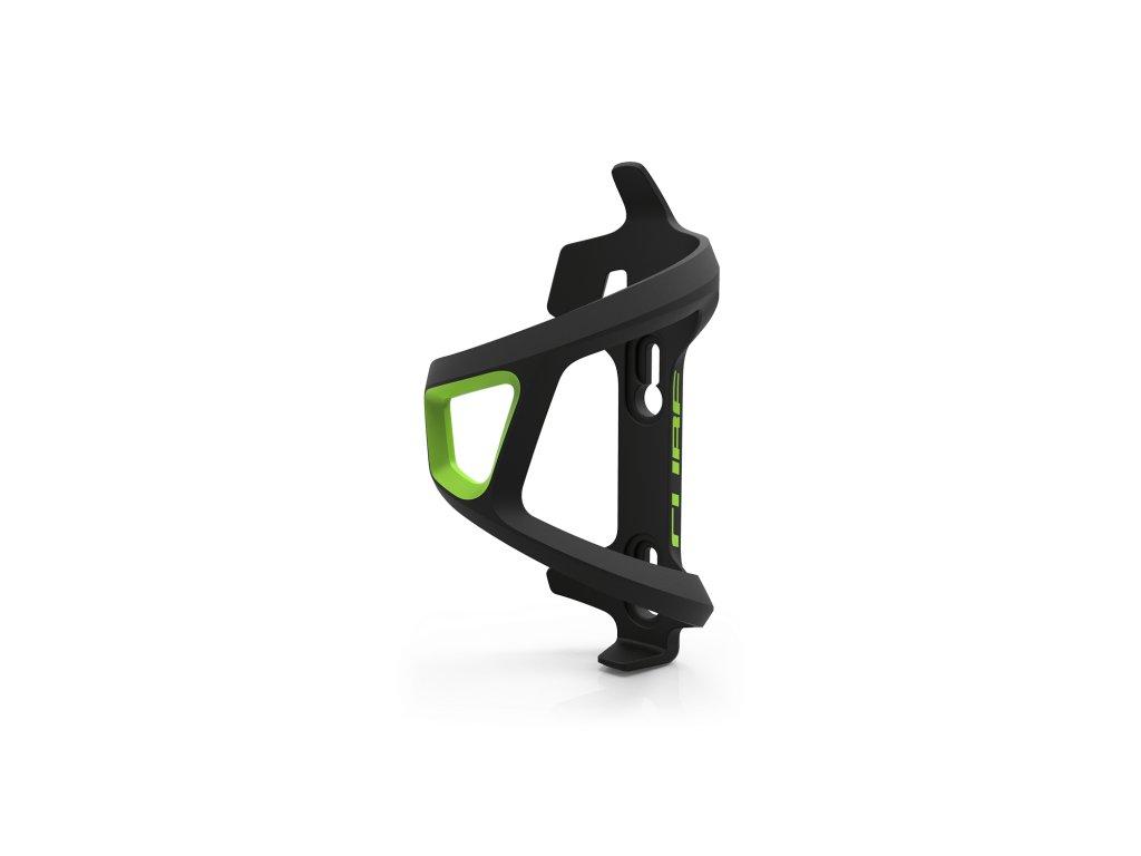 Cube HPP LEFT-HAND SIDECAGE Black n Green