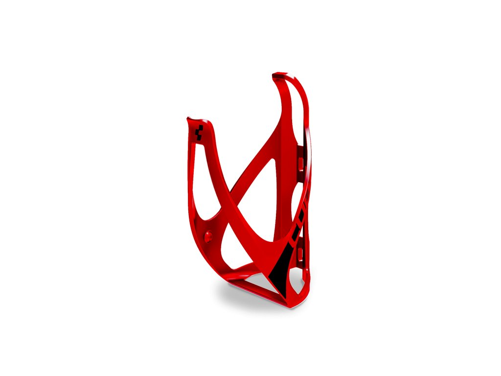 Cube BOTTLE CAGE HPP Mat  Red n Black