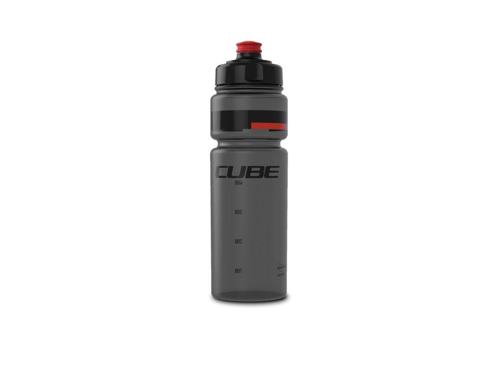 Cube BOTTLE 0,75L ICON TEAMLINE Black