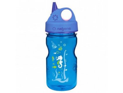 Nalgene Grip-n-Gulp Blue Seahorse  0,375 l