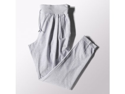 Adidas SPORT ESSENTIALS JERSEY PANTS - sivá