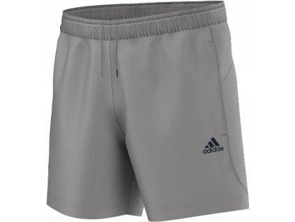 Adidas ESSENTIALS CHELSEA SHORTS - šedá / modrá