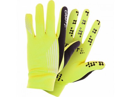 Craft BRILLIANT THERMAL GRIP Yellow n Black