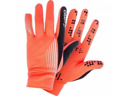 Craft BRILLIANT THERMAL GRIP Orange n Black