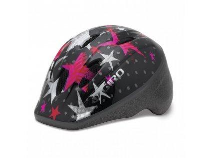 Giro ME2 black/pink stars
