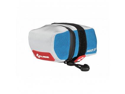Cube SADDLE BAG MULTI XS TEAMLINE - biela/čierna/modrá/červená