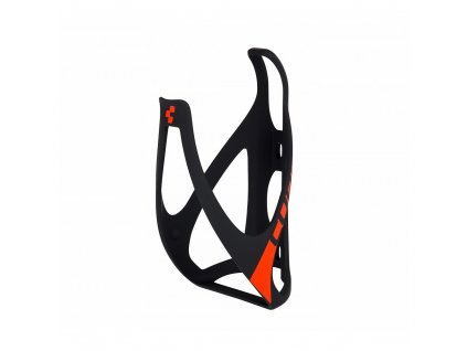 Cube BOTTLE CAGE HPP Mat  Black n Red