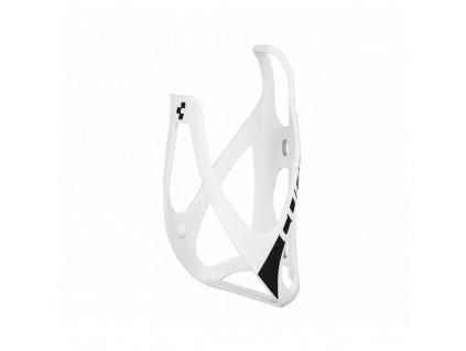 Cube BOTTLE CAGE HPP - biela matná/čierna