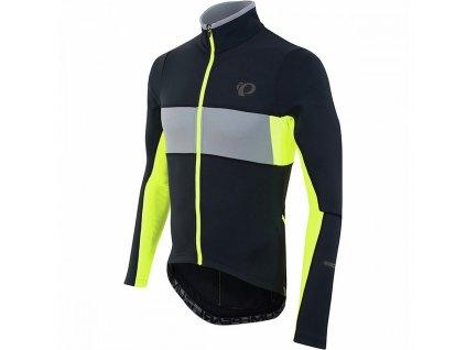 PEARL iZUMi Elite Thermal Jersey Black n Yellow
