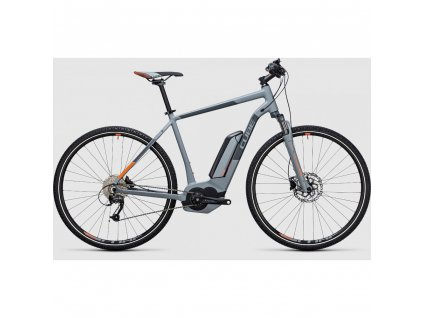 Cube CROSS Hybrid ONE 400 2017 Grey n Orange