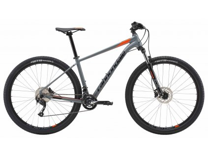 Cannondale Trail 7 2018 Jet Black and Hazard Orange - Gloss (SGY)