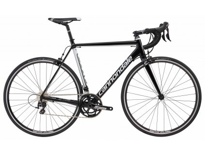 Cannondale Caad Optimo 105 2018 Jet Black w/ Magnesium White - Gloss (BLK)