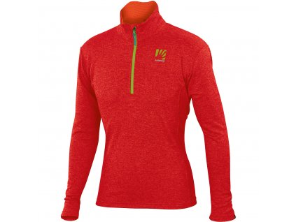 Karpos PIZZOCCO HALF ZIP Red