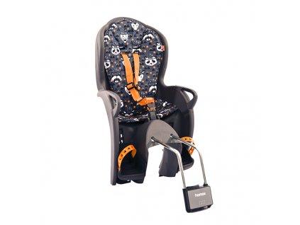 Hamax kiss child bike seat grey
