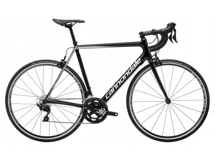 Cannondale SUPER EVO CARBON 105 2019 	Black Pearl w/ Fine Silver and Cashmere - Gloss (SLV)