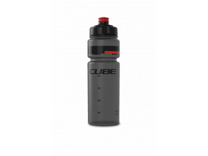 Cube BOTTLE 0,75L ICON TEAMLINE Black