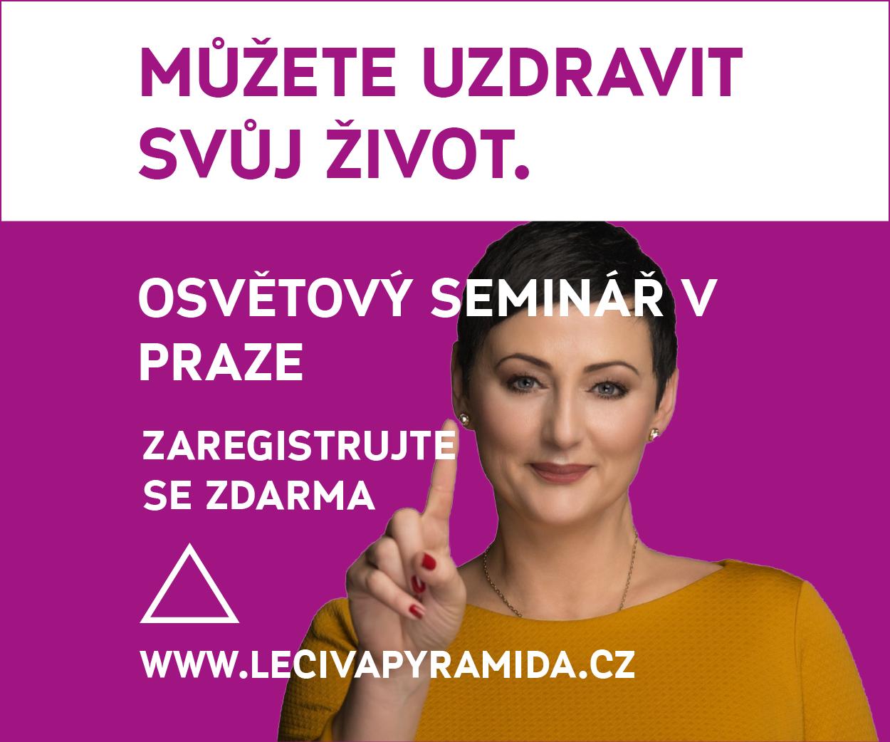 Osvětová přednáška v Praze