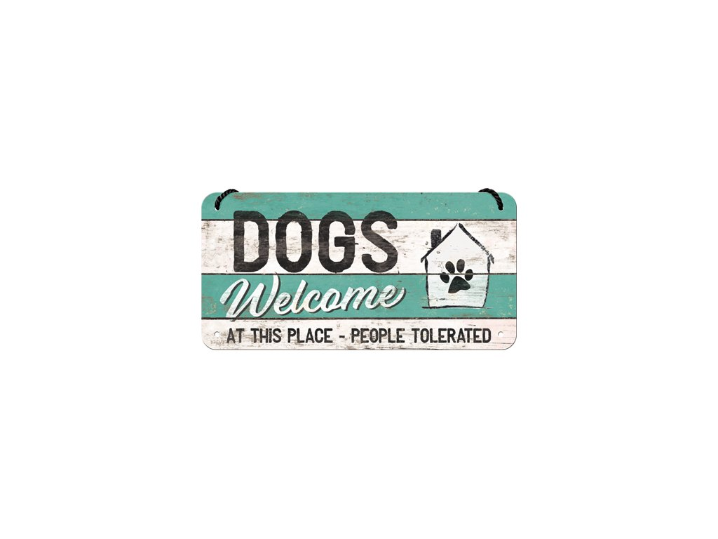 Dogs Welcome 1