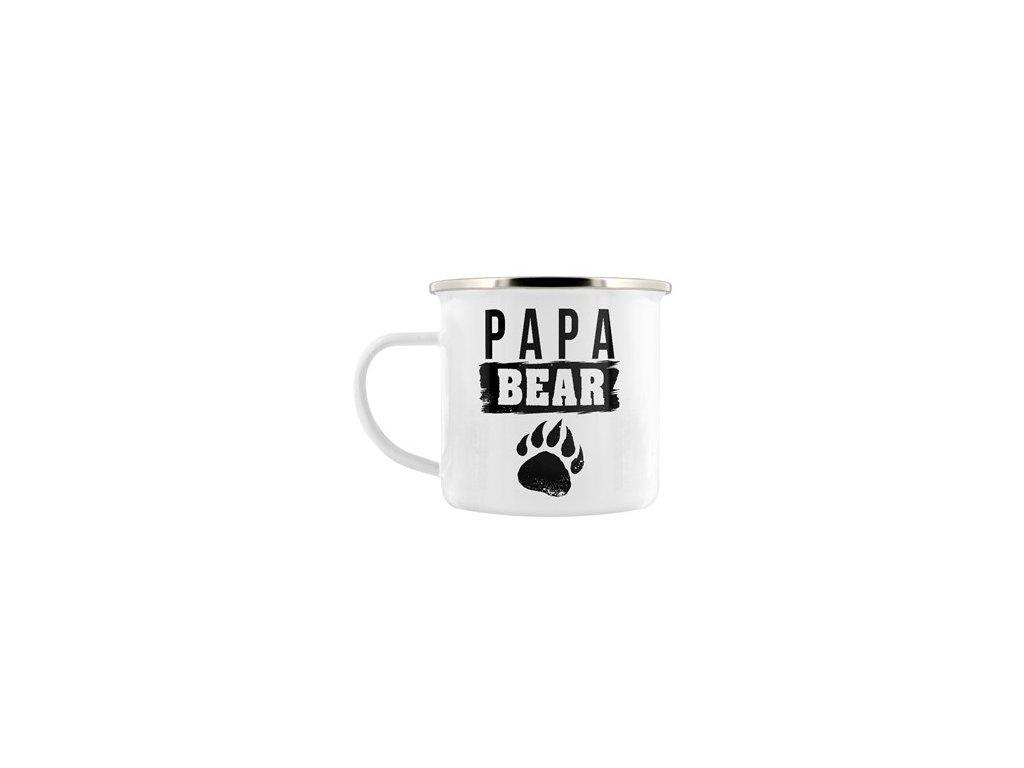Plechový Hrnček Papa Bear