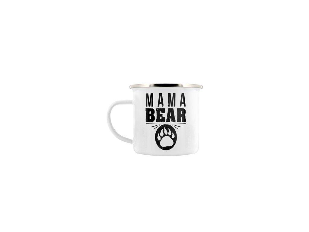 Plechový Hrnček Mama Bear