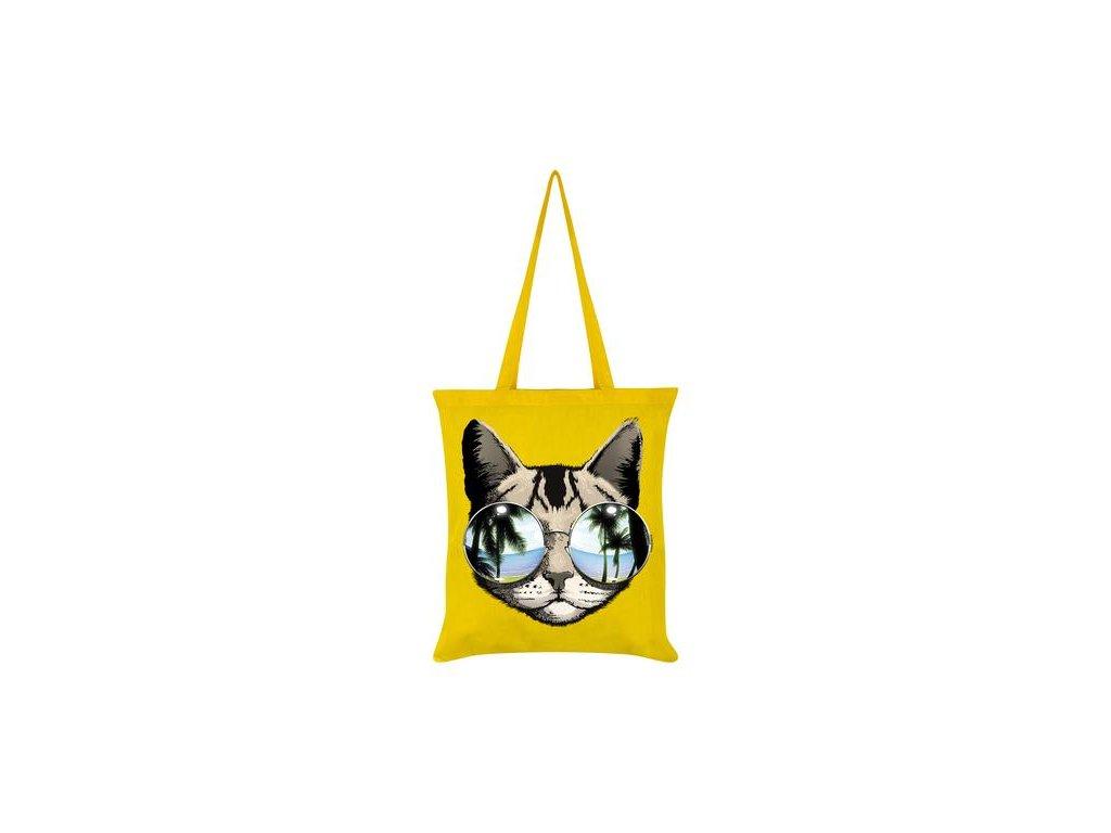 Bavlnená Taška Cool Cat California