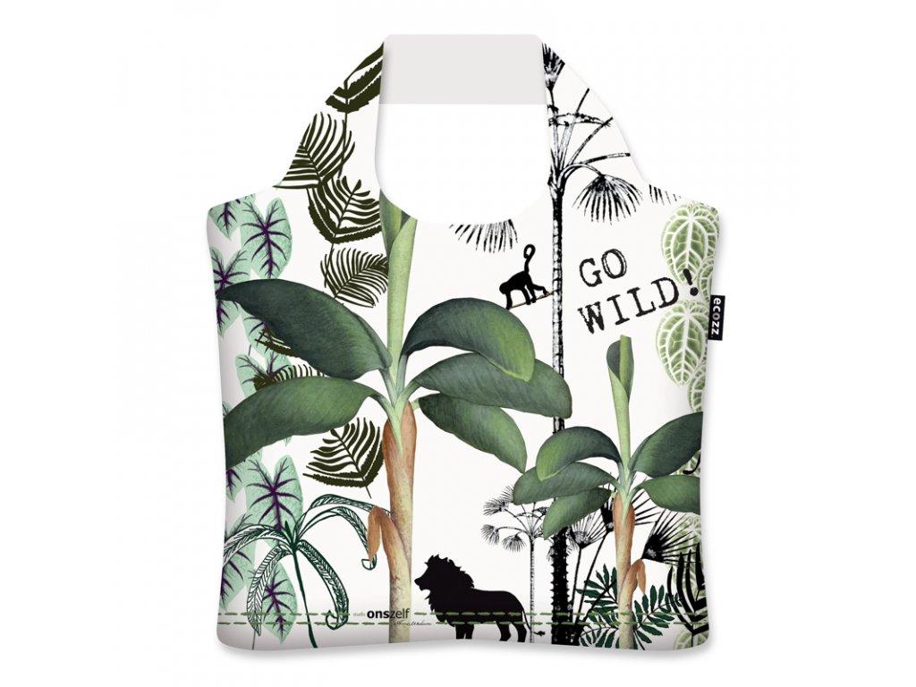 Skladacia eko taška Ecozz - Studio Onszelf Jungle